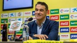 El entrenador del Villarreal CF, Luis García