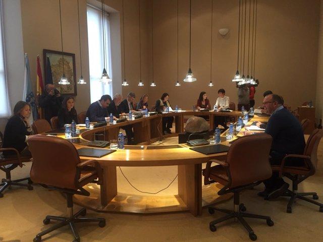 Reunión de la Xunta de Portavoces del Parlamento