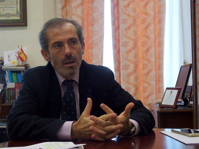 Francisco Javier Lara. Decano del Colegio de Abogados de Málaga 2017