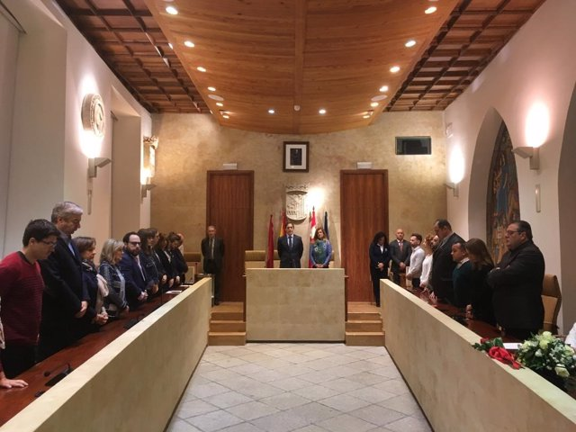 Primer pleno sin Mañueco como alcalde