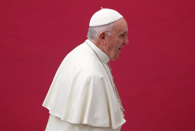 El Papa en su audiencia general en el Vaticano