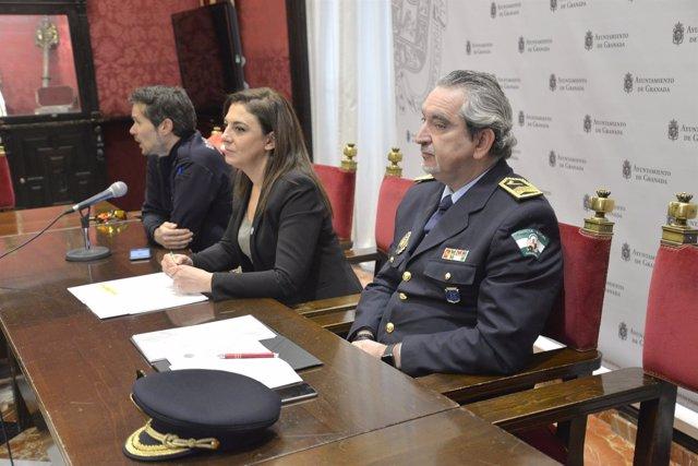 Presentación de la simulación de un terremoto de alta intesidad en Granada