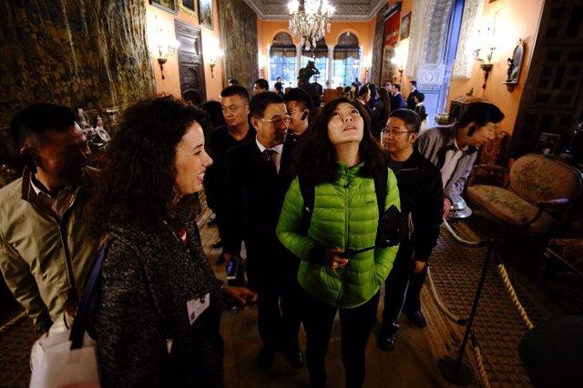 Visita de las agencias turísticas chinas a Sevilla