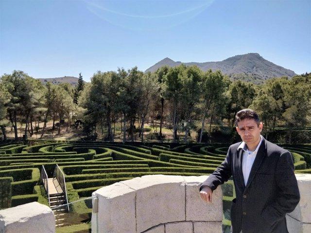 Leonardo Pérez, candidato las primarias de Ciudadanos