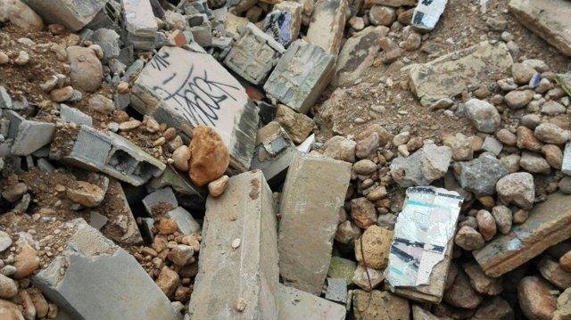 Cs denuncia lanzamiento de escombros sin tratar en las obras del canódromo