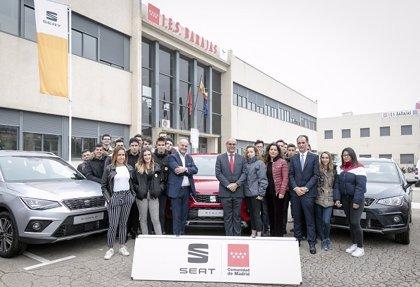 Seat dona 20 vehículos a la Comunidad de Madrid para fines didácticos