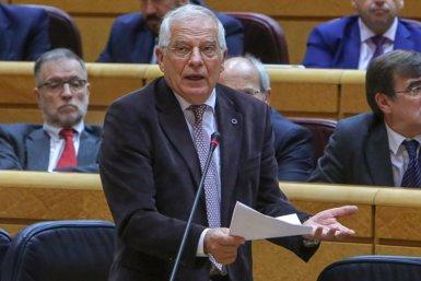 """Borrell admet que el Govern central ha tingut """"poc èxit"""" en rebaixar la crispació a Catalunya però no aposta pel 155 (Ricardo Rubio - Europa Press)"""