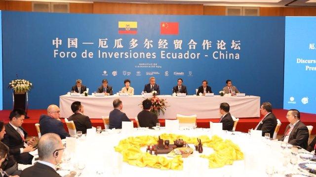 Lenín Moreno en China
