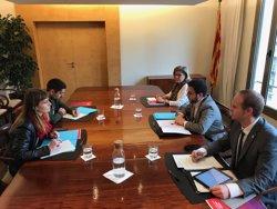 Els comuns rebutgen una altra reunió amb el Govern sense conèixer el seu projecte de Pressupostos (Europa Press)