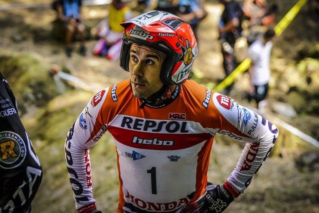 El piloto pluricampeón del mundo de trial Toni Bou (Repsol Honda)