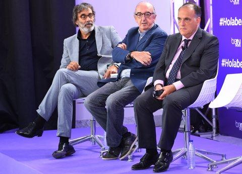 Tatxo Benet, Jaume Roures i Javier Tebas