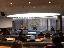 L'Ajuntament de Barcelona dona suport a la vaga de fam dels independentistes presos (Europa Press)
