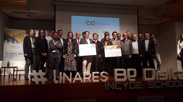 Clausura del foro Linares Be Digital.