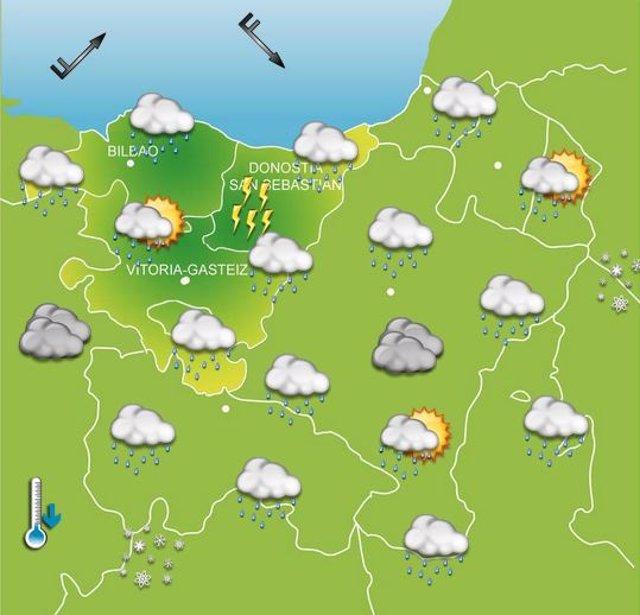 Previsiones meteorológicas