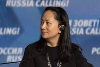 La directora financiara del gigante chino Huawei, Meng Wanzhou.