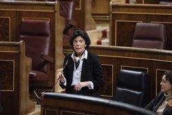 Celaá demana a Cs deslligar la immersió lingüística del conflicte català:
