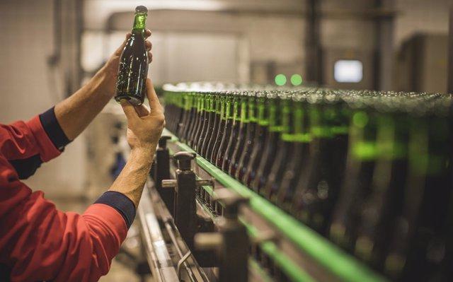 Organizan catas experienciales en el centro de producción de Cervezas Alhambra de Granada
