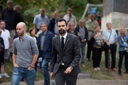 """Torrent responde a Sánchez que un referéndum ya tiene el """"apoyo del 80%"""" de catalanes"""