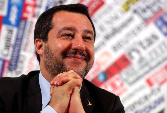 El viceprimer ministro italiano, Matteo Salvini