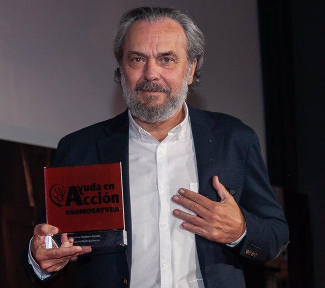 José Coronado, premiado por Ayuda en Acción