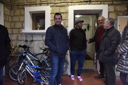 Torres de Barbués recibe a una nueva familia en el municipio con la ayuda de la DPH