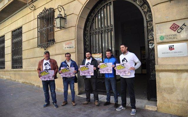 Los amigos de Iranzo, asesinado por 'Igor, el Ruso', organizan una concentración en El Saso (Teruel) este viernes