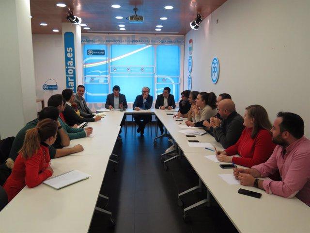 Reunión Juventud PP