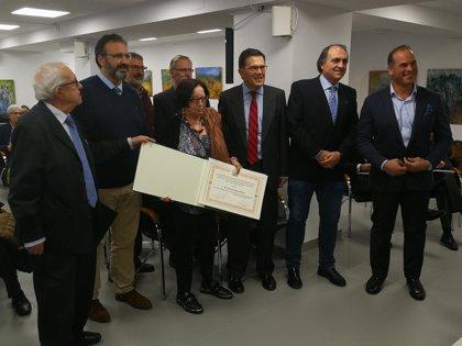 El Colegio de Veterinarios de Valladolid entrega menciones a periodistas locales por su defensa de los toros