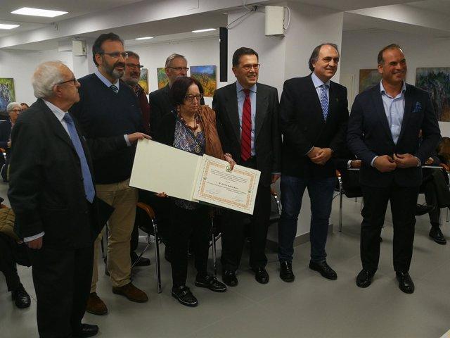 Menciones a la prensa de Valladolid en el Colegio de Veterinarios. 12-12-18