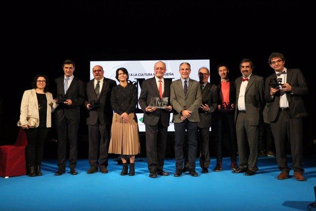 Gala de entrega del I Premio a la Cultura Malagueña