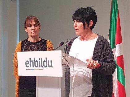 """EH Bildu cree """"tan lamentable como irresponsable la renuncia"""" del Gobierno Vasco a alcanzar un acuerdo presupuestario"""