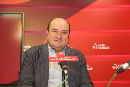 """Ortuzar (PNV) acusa a EH Bildu de """"cargarse"""" los Presupuestos y tratarán de minimizar """"los efectos del portazo"""""""
