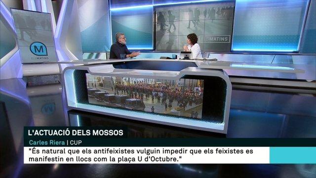 Carles Riera en TV3