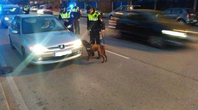 Policía Local de Badajoz realiza un control