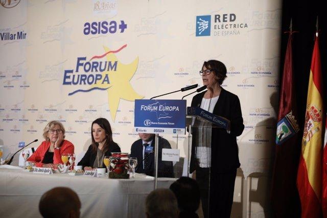 La delegada de Medio Ambiente y Movilidad de Madrid, Inés Sabanés