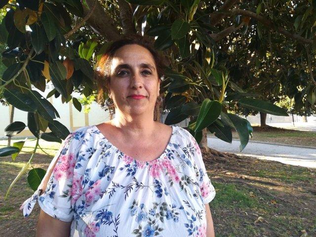 Candidata de Podemos por Cádiz, Ángela Aguilera