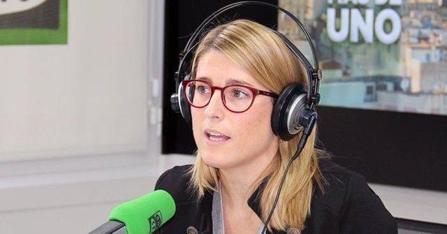 La consellera Elsa Artadi en Onda Cero