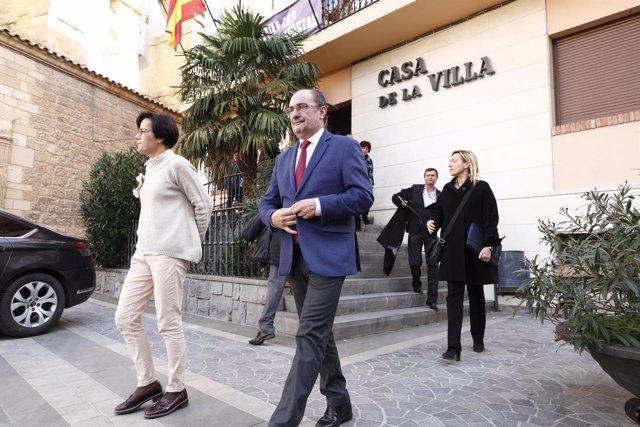 Javier Lambán ha presidido la reunión en Andorra.