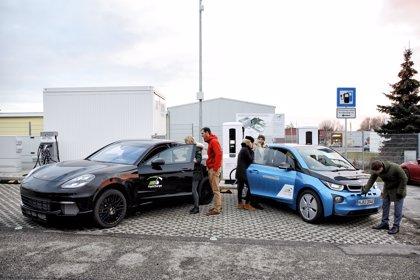 El proyecto Fast Charge (BMW y Porsche) desarrolla una estación de recarga hasta nueve veces más rápida