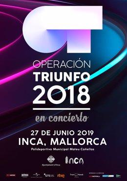 Concierto de Operación Triunfo en Inca en junio de 2019