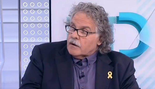 Entrevista en TVE al diputado de ERC en el Congreso Joan Tardà