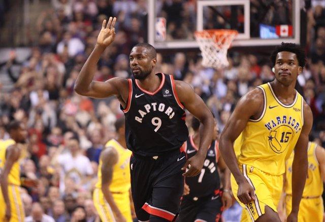 Serge Ibaka En El Golden State Warriors - Toronto Raptors