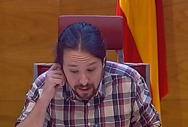 Pablo Iglesias comparece en la comisión sobre financiación de los partidos
