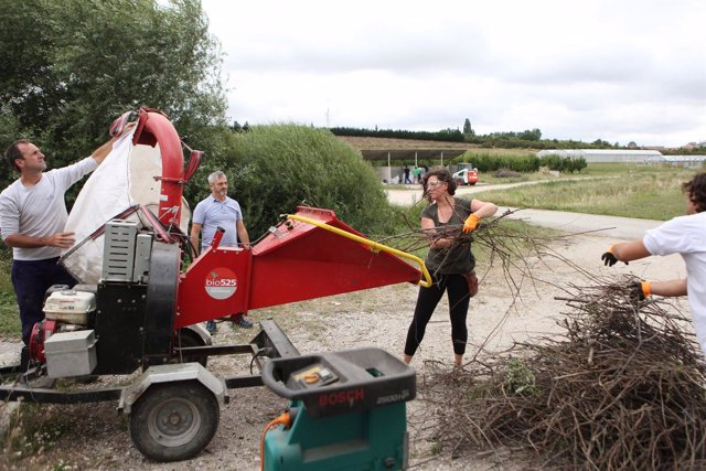 Imagen de un curso sobre compostaje de biorresiduos