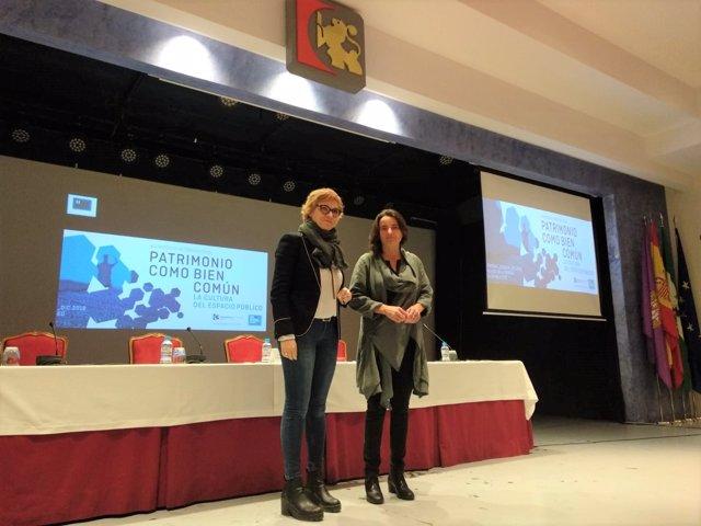 Ruz (izda.) y Redaelli, en la inauguración oficial del simposio