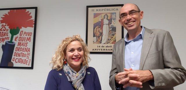 Remedios Ramos y Eduardo Zorrilla