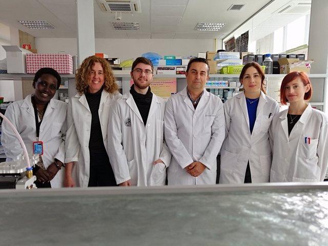 Investigadores que han trabajado en el nuevo modelo sobre el origen tumoral.