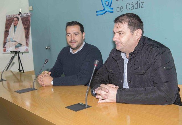 Presentación del belén viviente de Espera en la Diputación de Cádiz