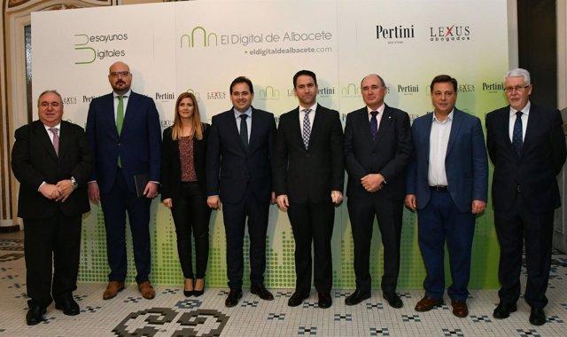 García Egea en Albacete