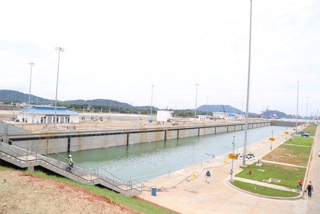 Nuevas esclusas de la ampliación del Canal de Panamá